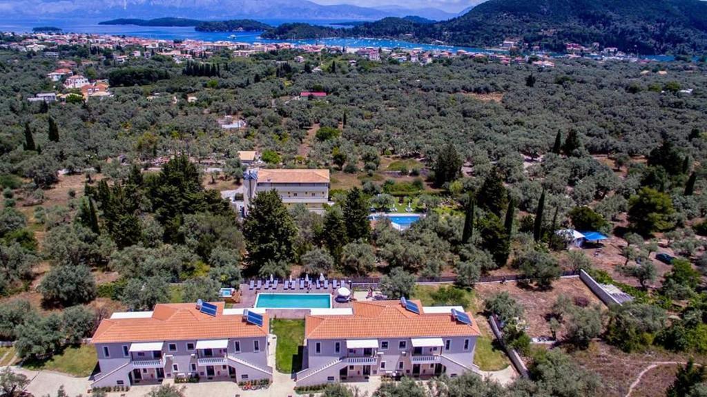 Άποψη από ψηλά του Golden Sun Villas
