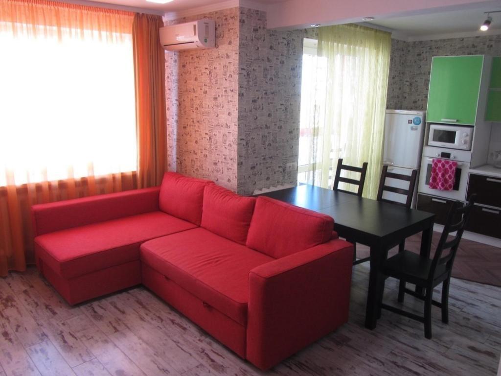 Гостиная зона в Apartment Revolutsionnaya 68-54