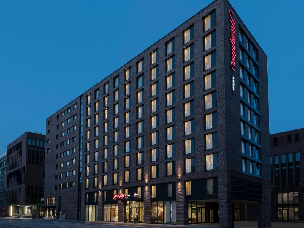 Hotel hampton by hilton hamburg germany for Hotel hamburg