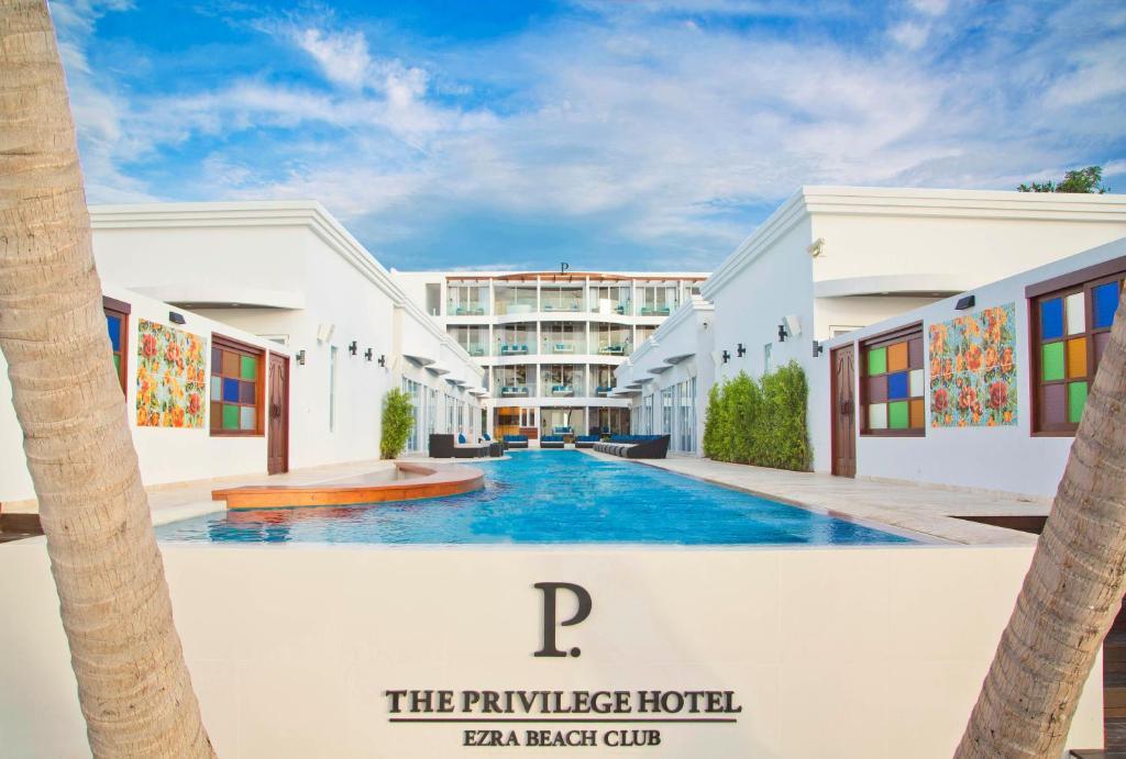 The swimming pool at or near The Privilege Hotel Ezra Beach Club