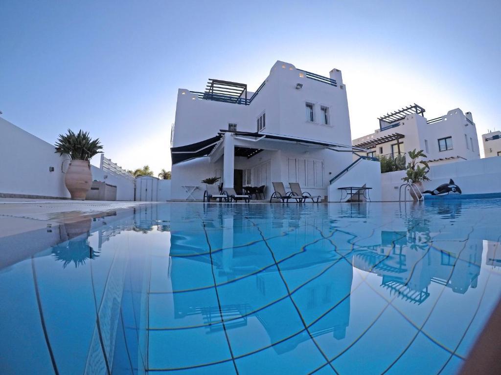 The swimming pool at or near Villa Jenny