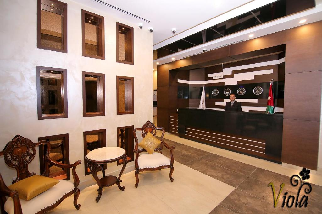 Viola Hotel Suites Jordanien Amman Booking Com
