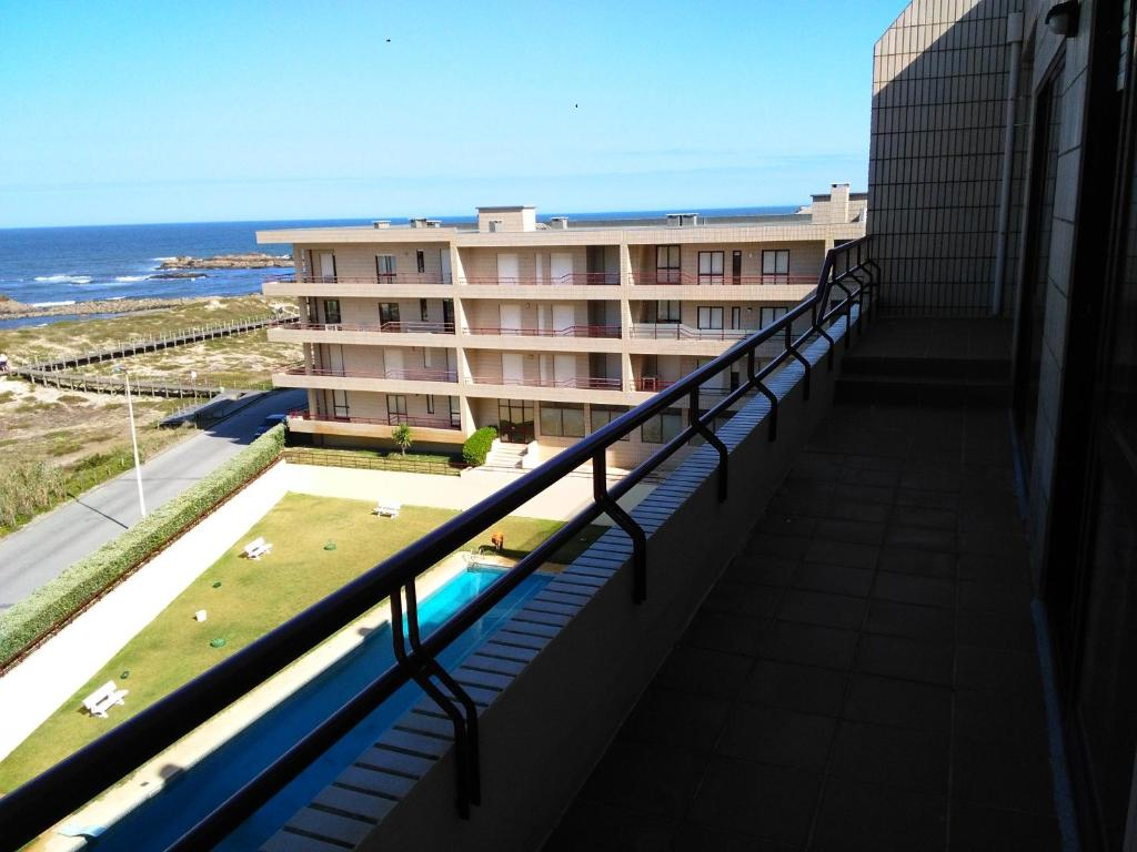 A balcony or terrace at Mindelo Beachfront Penthouse
