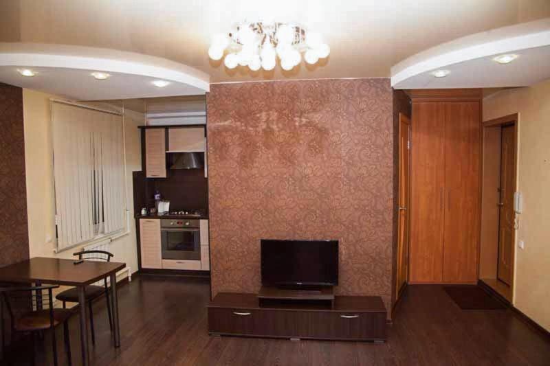 Телевизор и/или развлекательный центр в Apartment, Mayskaya, 24
