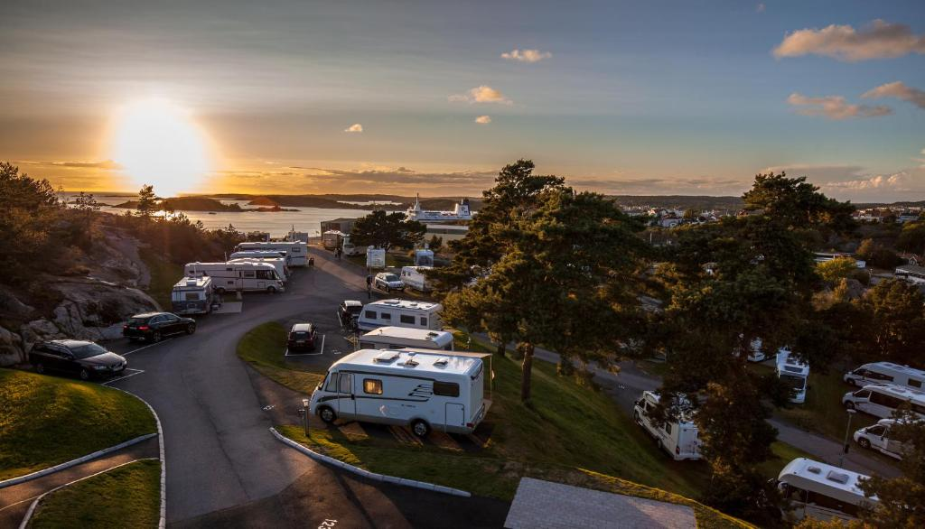 A bird's-eye view of Nordic Camping Strömstad