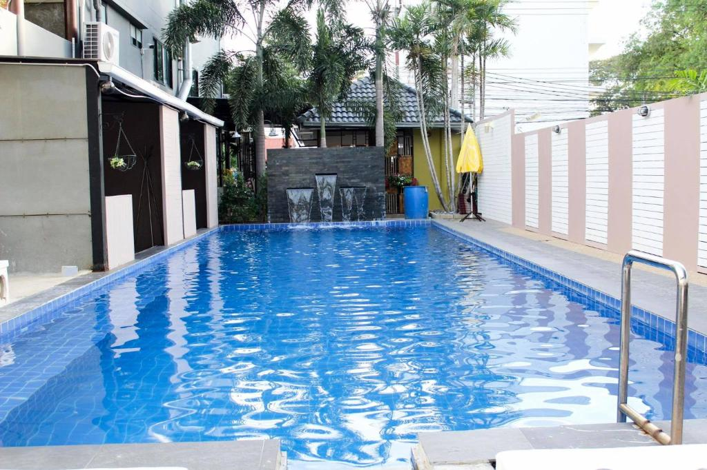 The swimming pool at or near Royal Nine