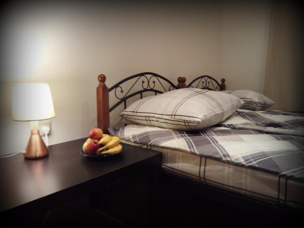 Кровать или кровати в номере Hostel 42