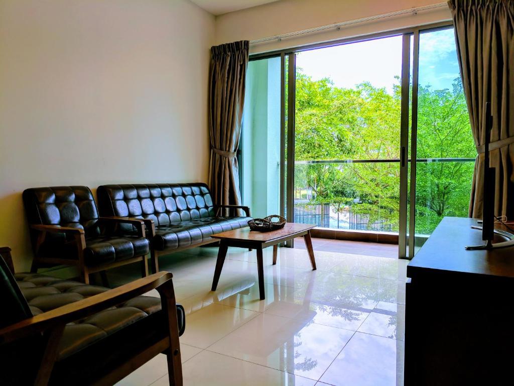 A Seating Area At The Loft Imago E Kota Kinabalu