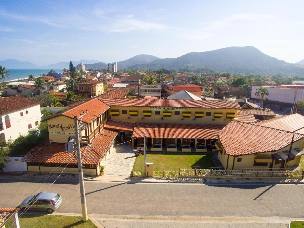 A bird's-eye view of Hotel Águas Vivas