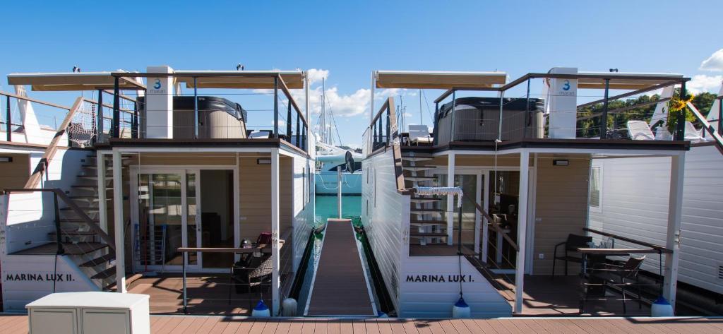 Vacation Home Floating Sea Houses MARINA LUX, Portorož, Slovenia