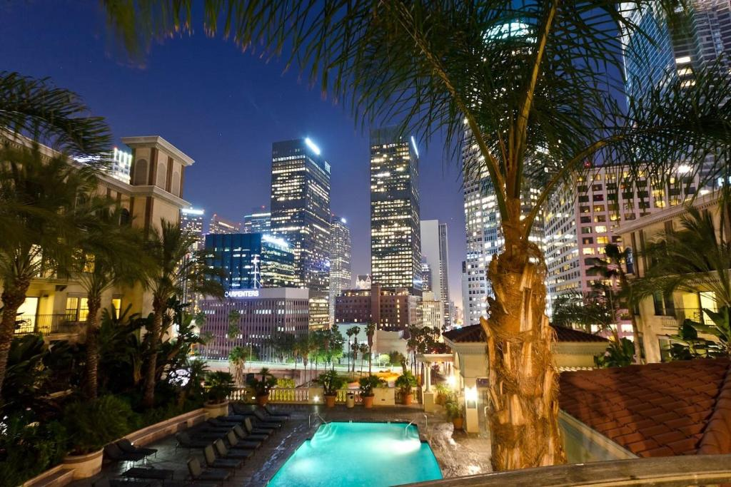 Luxury Apartments Pool. Gallery image of this property luxury dtla gym pool apartment  Los Angeles CA Booking com