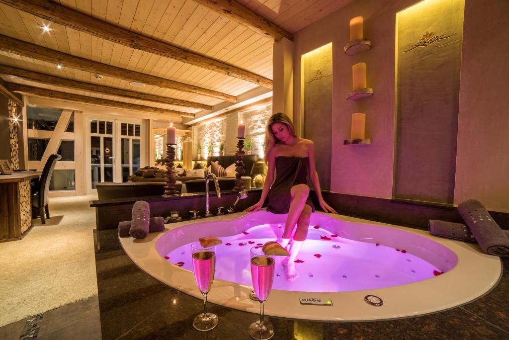 Spa villa beauty wellness resort deutschland wingerode for Wellness design hotel deutschland
