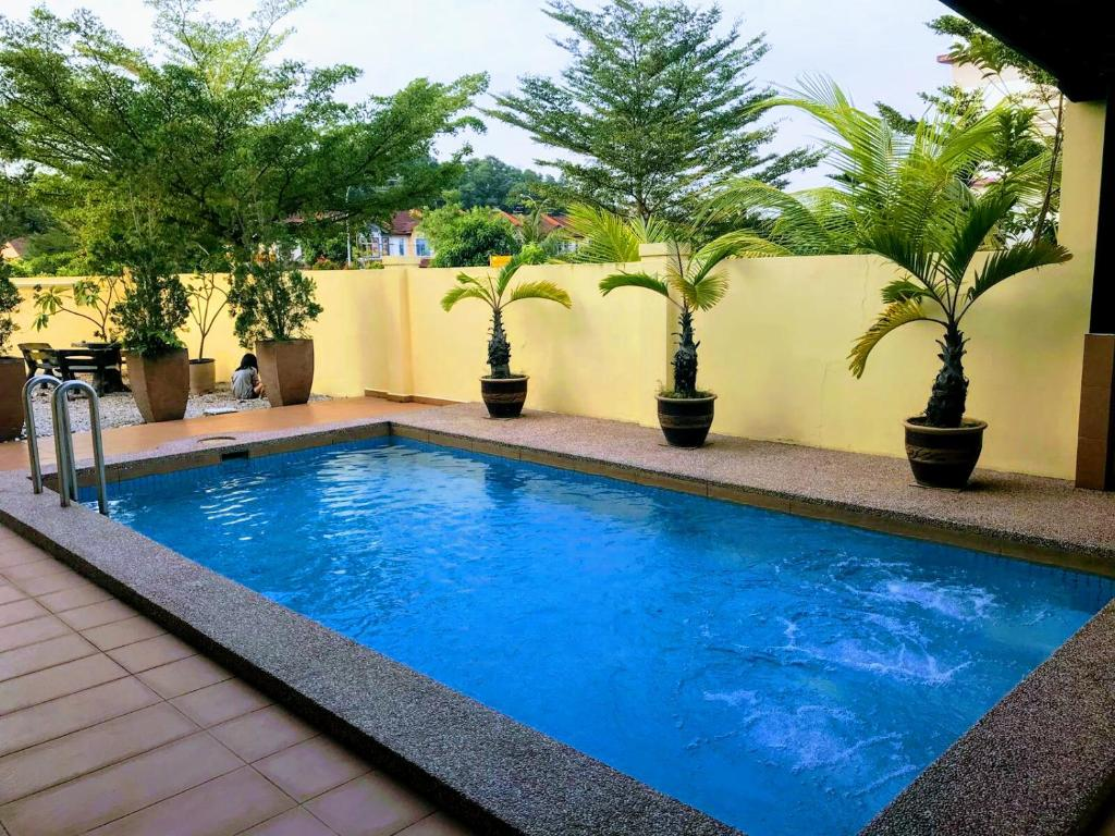 Private Jacuzzi Swimming Pool House Johor Bahru Updated