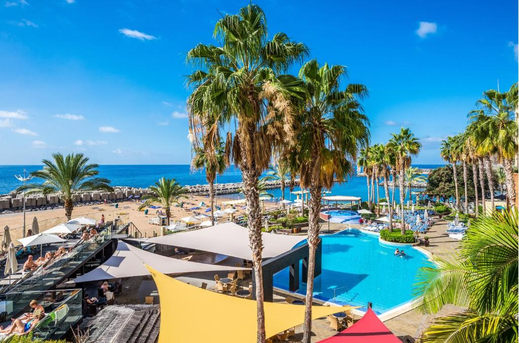 A view of the pool at Calheta Beach - All Inclusive or nearby