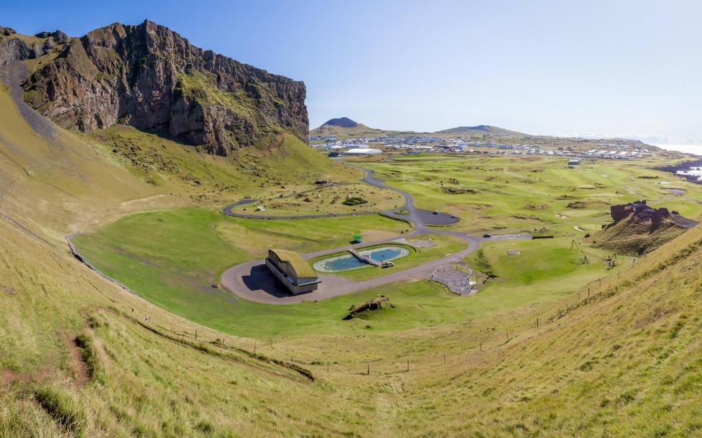 A bird's-eye view of Naturebox Life | Vestmannaeyjar