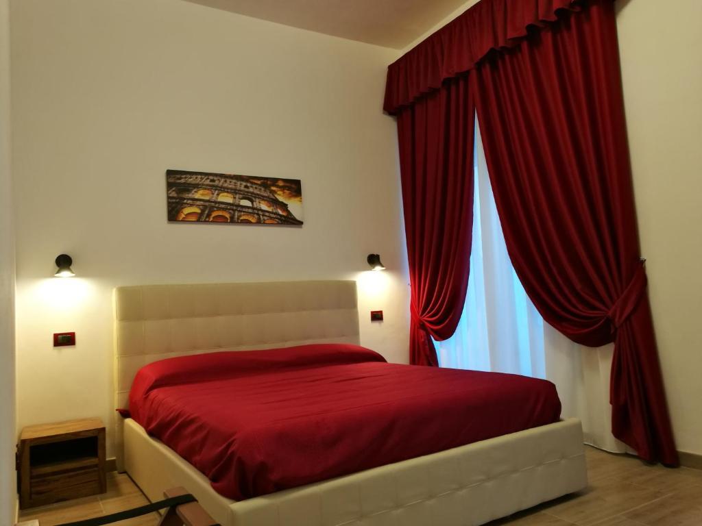Krevet ili kreveti u jedinici u objektu Al Trenino accomodation