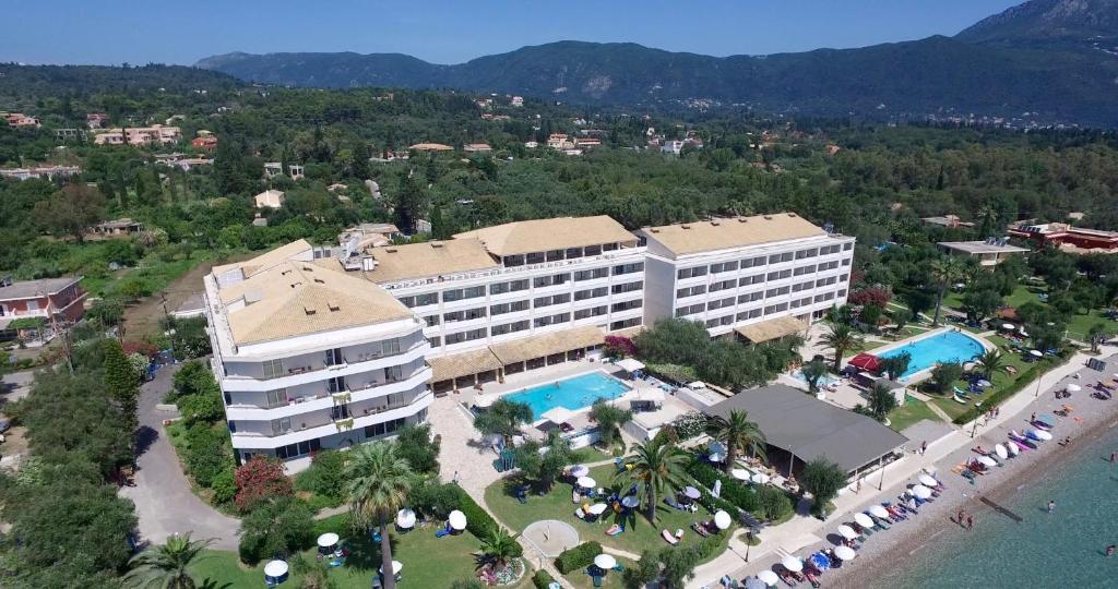 Elea Beach Hotel с высоты птичьего полета