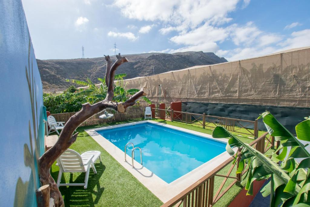 Vacation Home Family House Private Pool Puertito De Guimar Spain