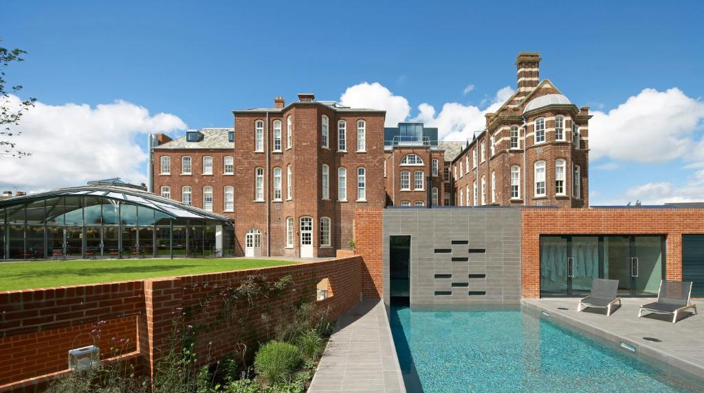 The swimming pool at or near Hotel du Vin Exeter
