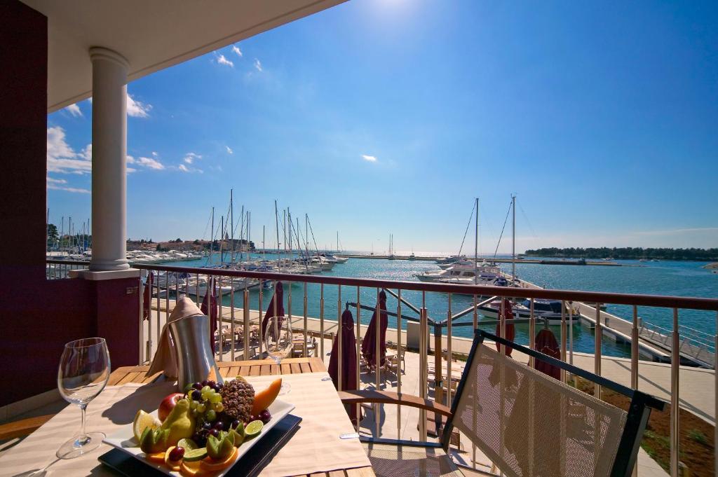 Balcony o terrace sa Hotel Nautica