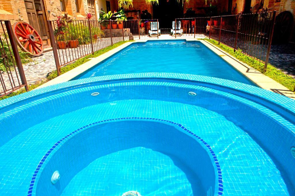 The swimming pool at or near Casa San Juan