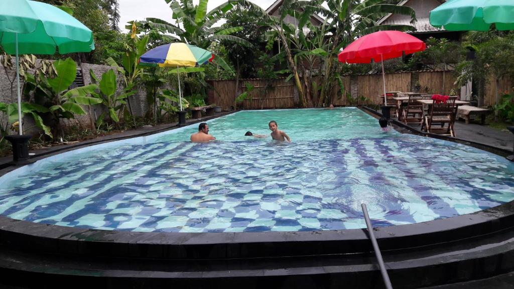 The swimming pool at or near Kali Catur Resort