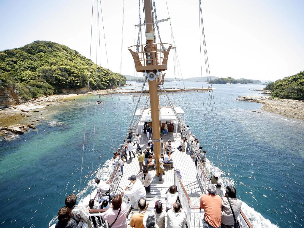ポイント1.自然を感じられる九十九島の好立地