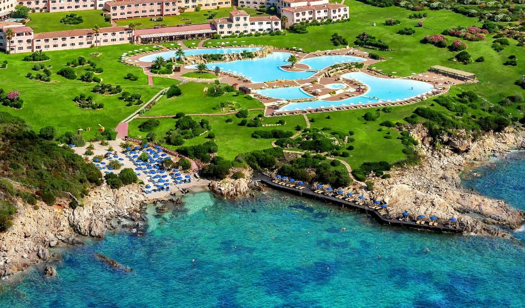 A bird's-eye view of Colonna Resort