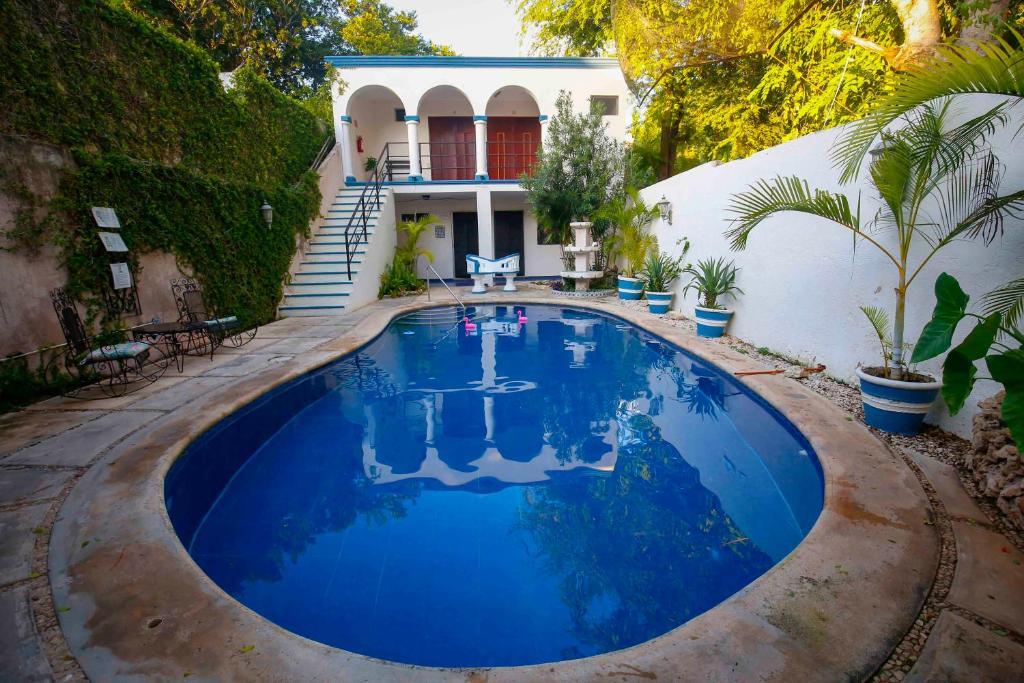 The swimming pool at or near Hotel Zamna