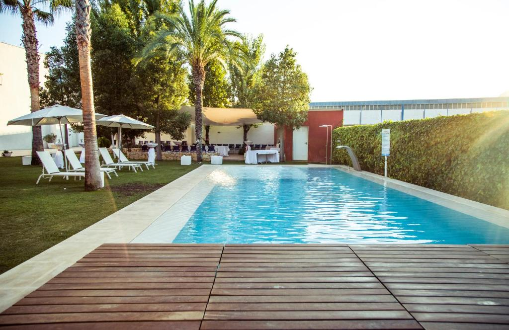 Map Of Yecla Spain.Hotel La Paz Yecla Spain Booking Com