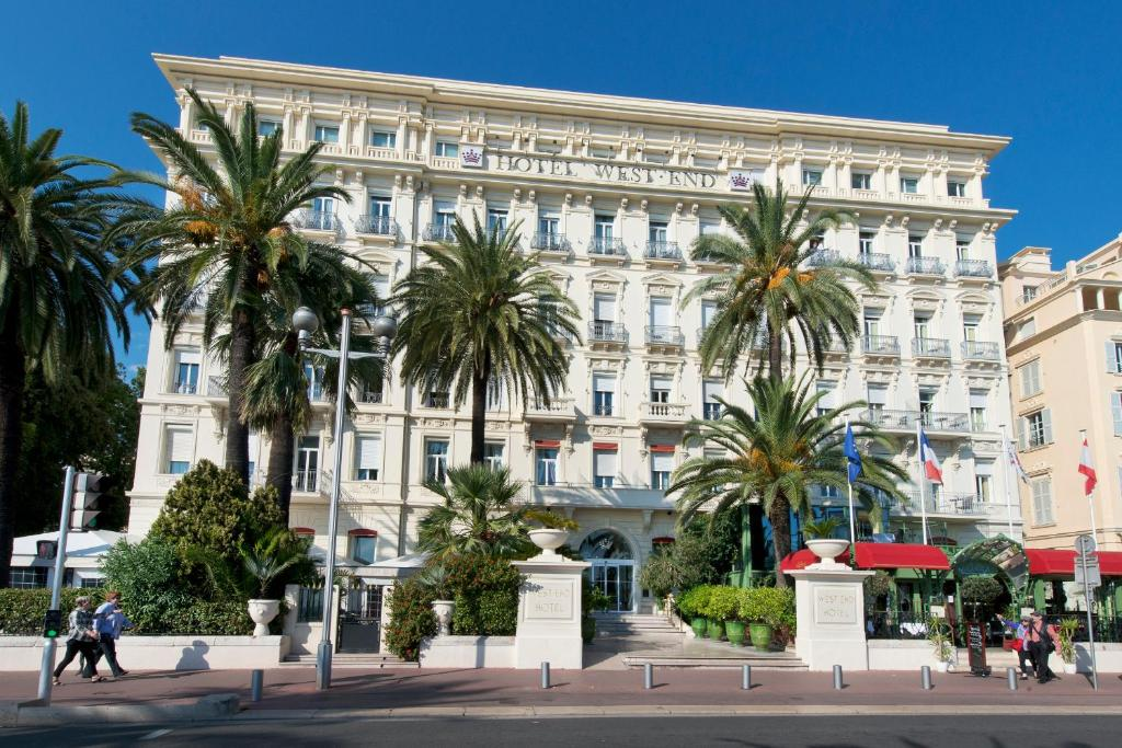 H tel west end promenade nice france for Designhotel nizza