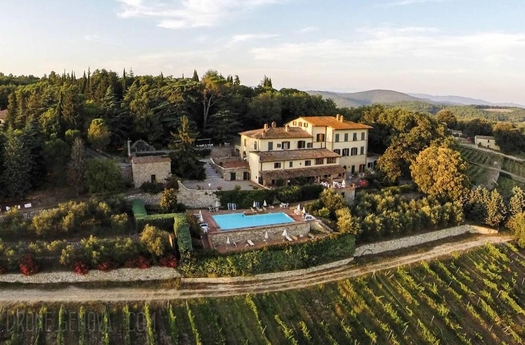 Karta Italien Chianti.Hotel Villa Casalecchi I Castellina In Chianti Uppdaterade Priser