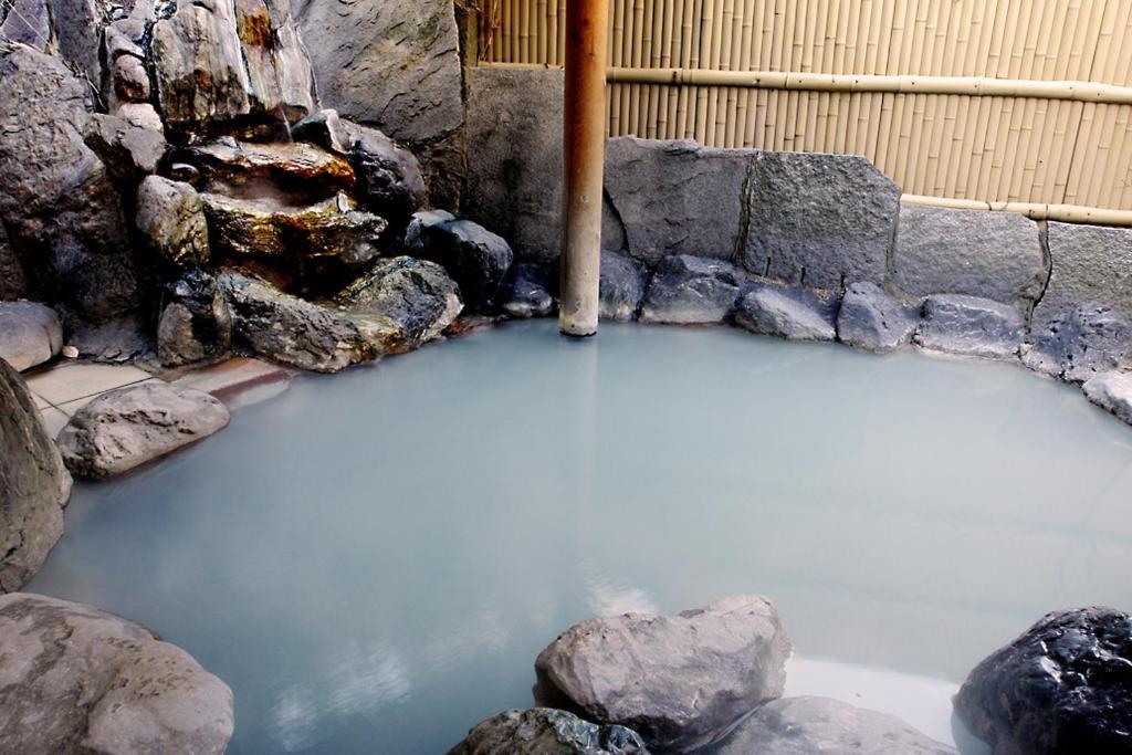 ポイント1.清水屋自慢の温泉