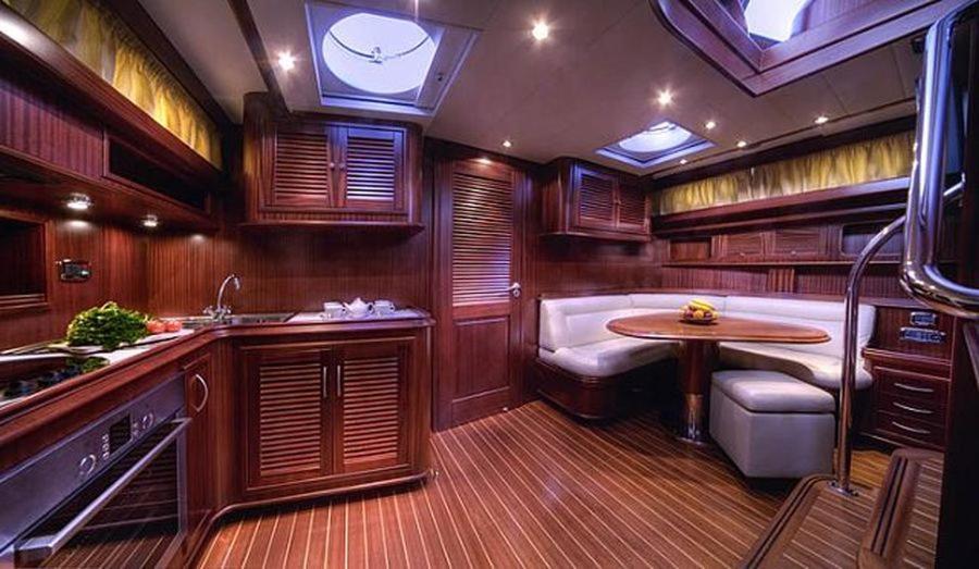 A bathroom at Balestro Cruise
