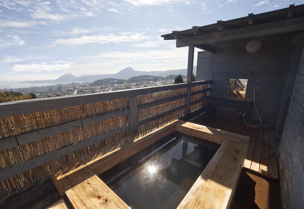 ポイント1.開放的な展望露天風呂