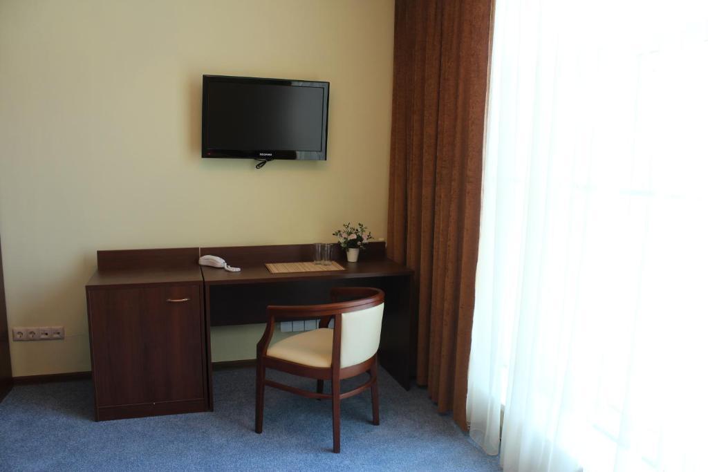 Телевизор и/или развлекательный центр в Гостиница Украина