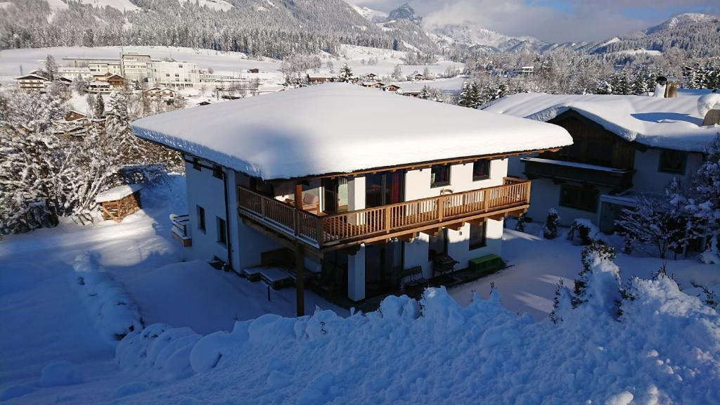 Chalet France during the winter