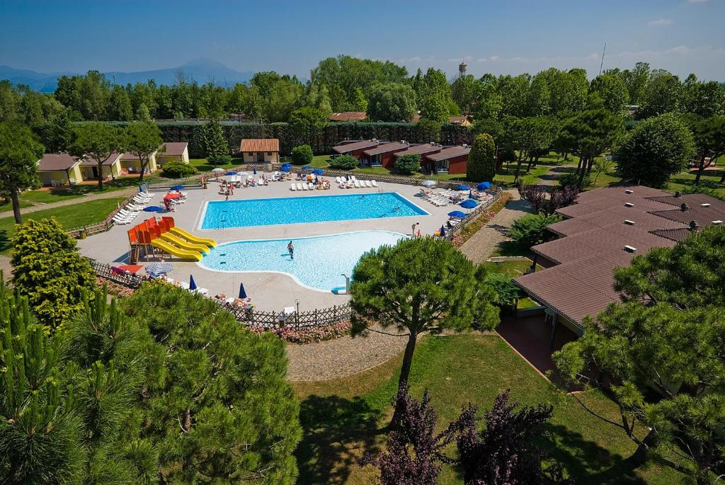 A view of the pool at Del Garda Village and Camping or nearby