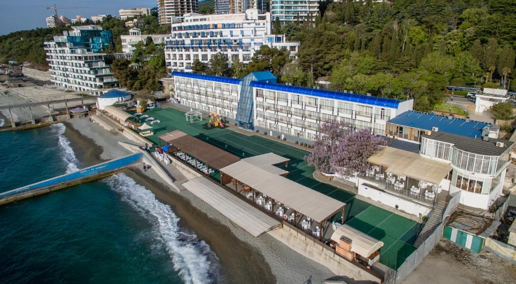 A bird's-eye view of Eco Hotel Levant