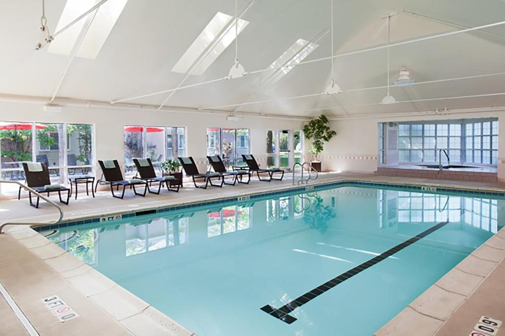 The swimming pool at or near Delta Hotels by Marriott Burlington