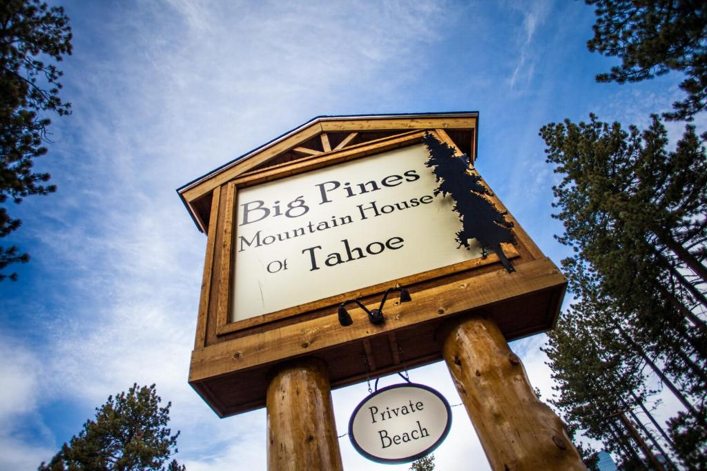motel big pines mountain house south lake tahoe ca. Black Bedroom Furniture Sets. Home Design Ideas