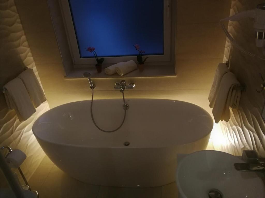 Salle de bains dans l'établissement Studio apartment Symphony