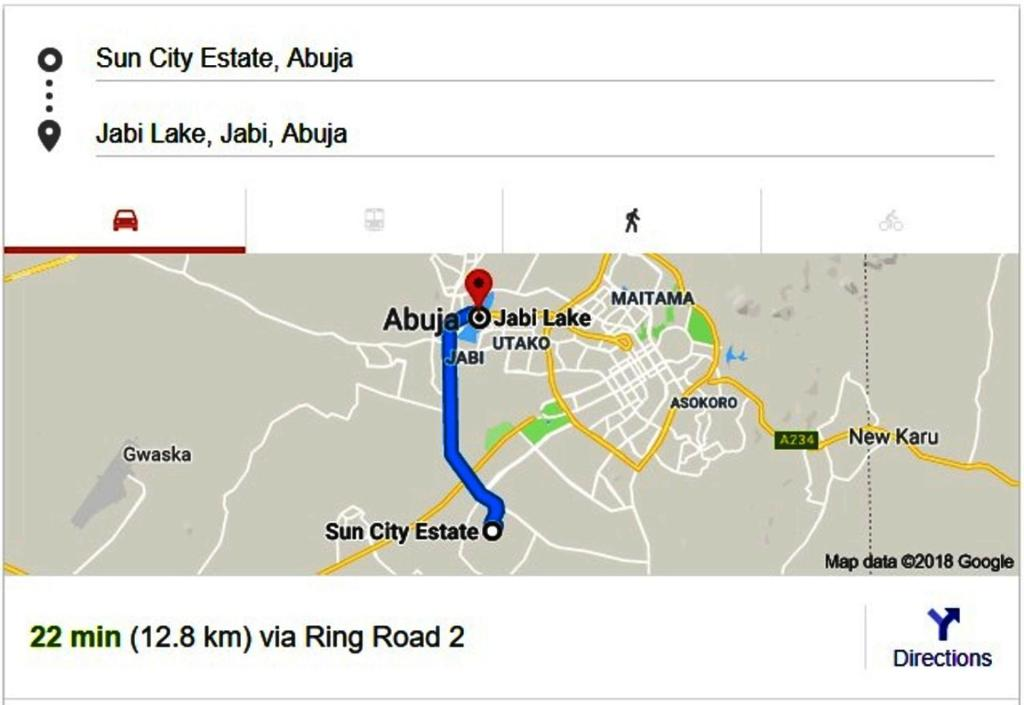 Guesthouse House Guest Suites Abuja Nigeria Bookingcom - abuja map