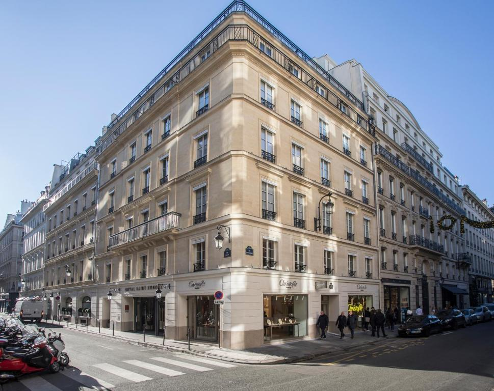 Hotel royal saint honore paris france for Hotel royal