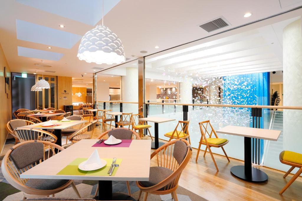 ポイント3.明るいレストランで、北海道の朝ごはん