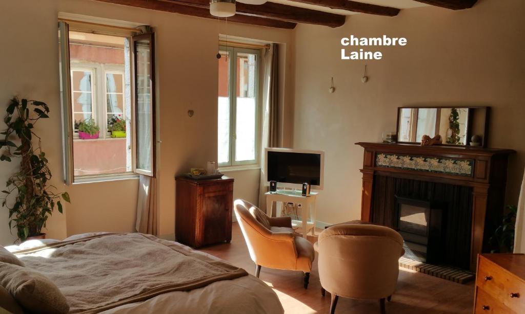 b&b / chambres d'hôtes les filateries chambres d'hotes (france