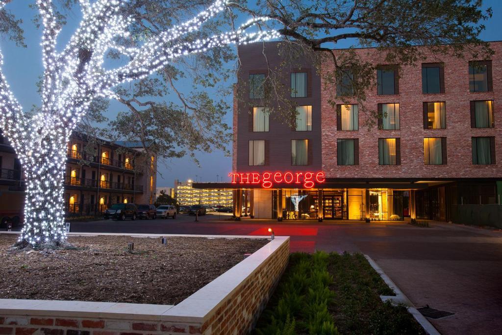 hotel the george college station tx. Black Bedroom Furniture Sets. Home Design Ideas
