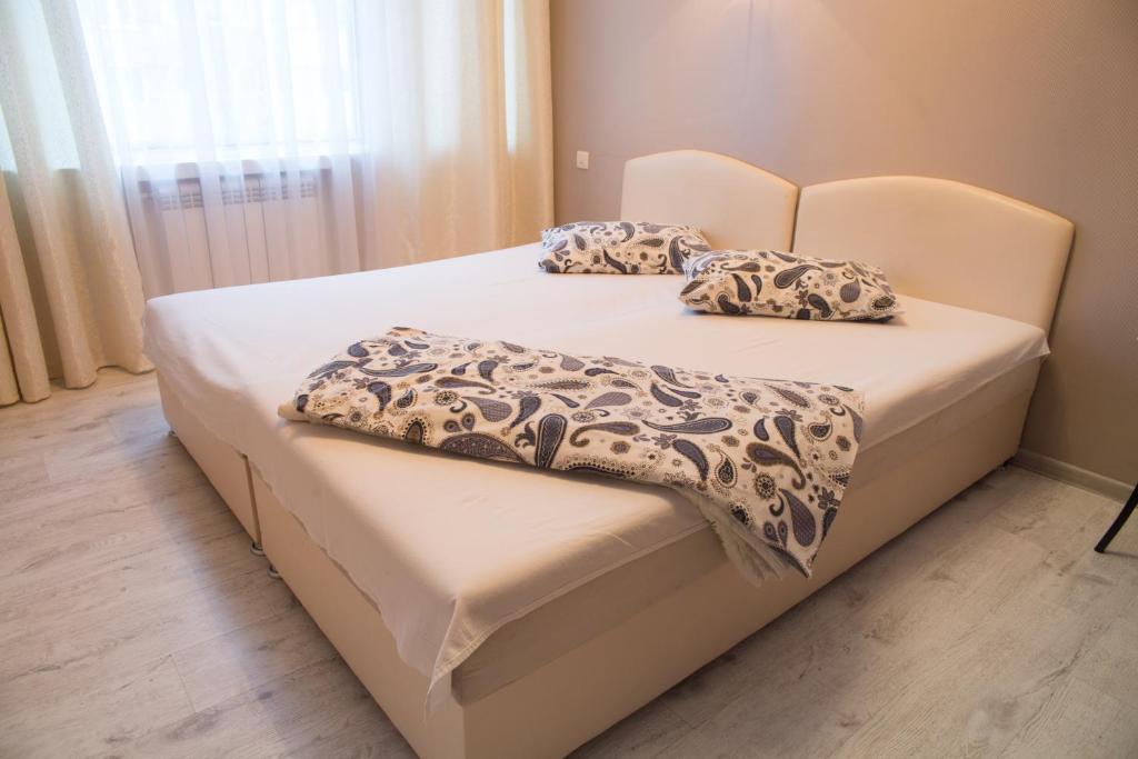Кровать или кровати в номере Hotel on Petergofskoye Shosse 3