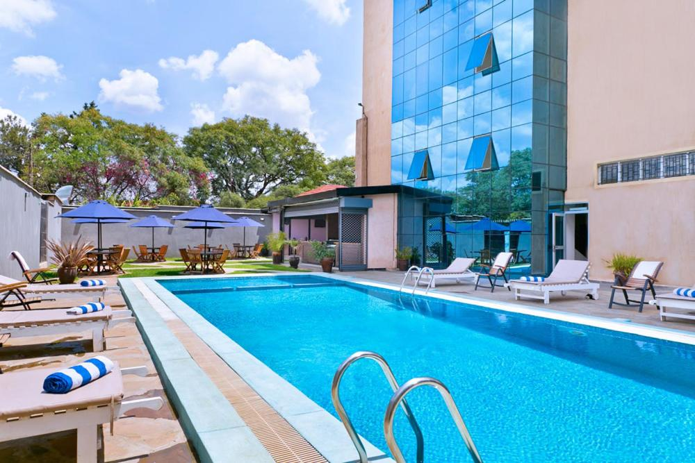 The swimming pool at or near Mash Park Hotel
