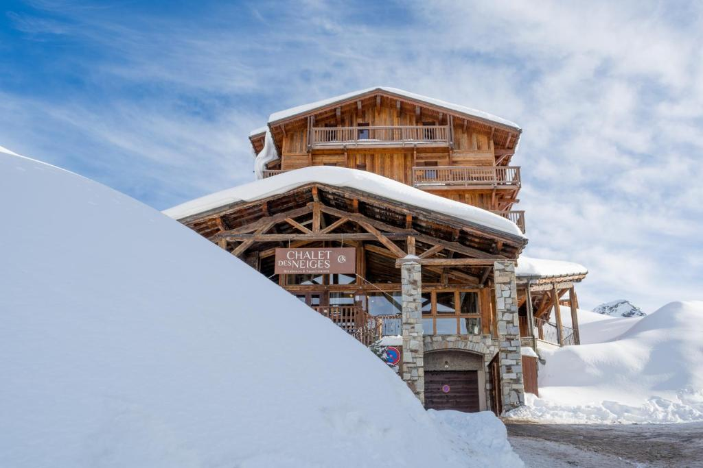Chalet Des Neiges Hermine During The Winter